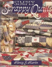 Simply Scrappy Quilts Book Cover