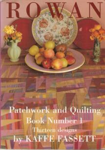 Rowan, Patchwork and Quilting, Book Number 1, 13 designs  Book Cover