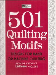 501 Quilting Motifs  Book Cover