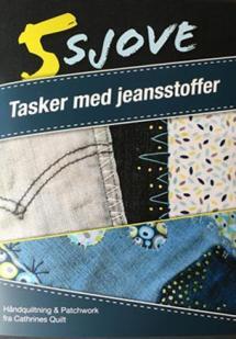 5 sjove - Tasker med jeansstoffer Book Cover