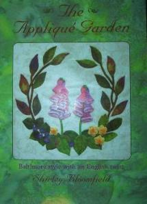 The Appliqué Garden - Baltimore style with an English twist Book Cover