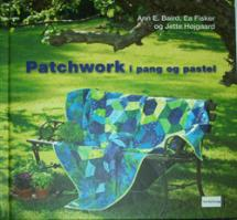 Patchwork i pang og pastel  Book Cover