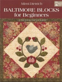 Baltimore Blocks for Beginners, A Step-by-Step Guide  Book Cover