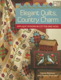 Elegant Quilts, Country Charm  Book Cover