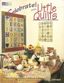 Celebrate! With Little Quilts  Book Cover