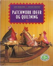 Patchwork Idéer og Quiltning  Book Cover