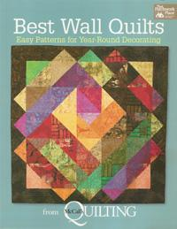 Best Wall Quilts, Easy Patterns for Year-Round Decorating  Book Cover