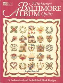 Miniature Baltimore Album Quilts  Book Cover