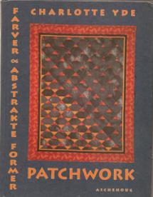 Patchwork, farver og abstrakte former  Book Cover