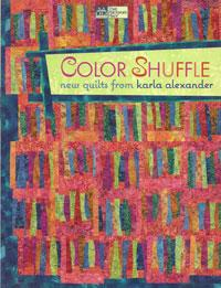 Color Shuffle - new quilts  Book Cover