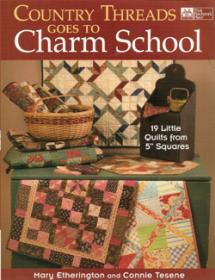 Country Threads goes to Charm School  Book Cover