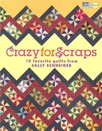 Crazy for Scraps, 19 favorite quilts  Book Cover