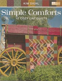 Simple Comforts, 12 Cozy Lap Quilts  Book Cover