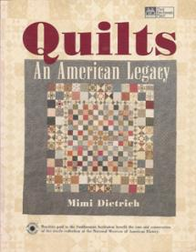 Quilts - An American Legacy  Book Cover