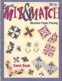 Easy Mix & Match Maschine Paper Piecing  Book Cover