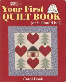 Your First Quilt Book (or it should be!) Book Cover