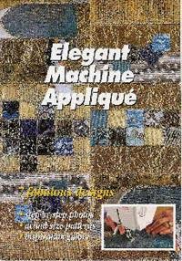Elegant Machine Appliqué  Book Cover