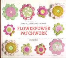 Flowerpower Patchwork  Book Cover