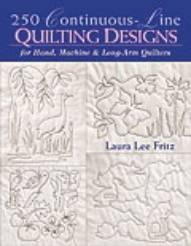 250 Continuous-Line Quilting Designs  Book Cover