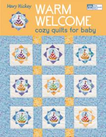 Warm Welcome Cozy Quilts for Baby Book Cover