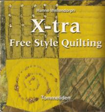 X-tra Free Style Quilting Book Cover