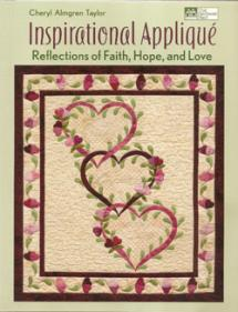Inspirational Appliqué, Reflections of Faith, Hope, and Love  Book Cover
