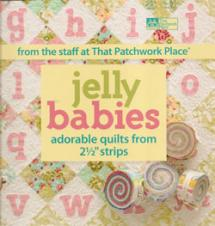 "Jelly Babies Adorable Quilts from 2 1/2"" Strips  Book Cover"