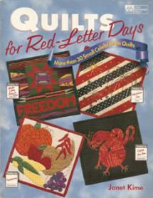 Quilts for Red-Letter Days - more than 30 Small Celebration Quilts  Book Cover