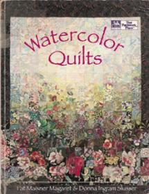 Watercolor Quilts Book Cover