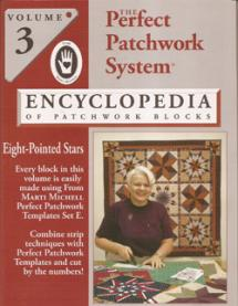 The Perfect Patchwork System, Volume 3, Eight-Pointed Stars Book Cover