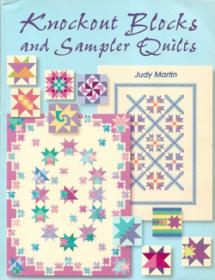 Knockout blocks and sampler quilts  Book Cover