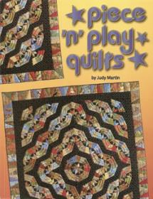 "Piece ""n"" play quilts  Book Cover"