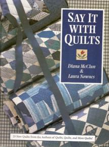 Say It With Quilts  Book Cover
