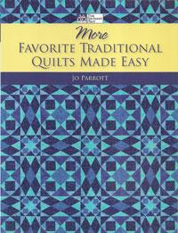 More Favorite Traditional Quilts Made Easy  Book Cover