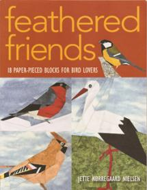 Feathered Friends 18 Paper-Pieced Blocks for Bird Lovers  Book Cover