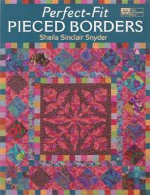 Perfect-Fit Pieced Borders  Book Cover