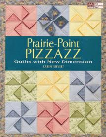 Prairie-Point Pizzazz, Quilts with New Dimension  Book Cover