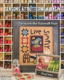 Seasons at Buttermilk Basin  Book Cover