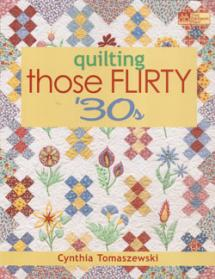 Quilting Those Flirty '30s  Book Cover