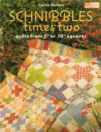 "Schnibbles times two, Quilts from 5"" or 10"" Squares  Book Cover"
