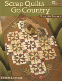 Scrap Quilts Go Country, Great for Precuts  Book Cover
