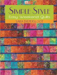 Simple Style, Easy Weekend Quilts  Book Cover