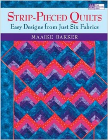 Strip-Pieced Quilts Book Cover
