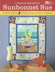 A year in the life of Sunbonnet Sue  Book Cover