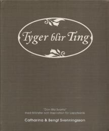 Tyger blir Ting Book Cover