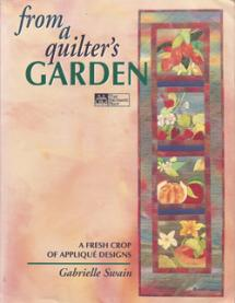 From a Quilter's Garden – A Fresh Crop of Appliqué Designs  Book Cover
