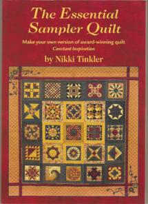 The Essential Sampler Quilt Book Cover