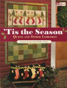 'Tis the Season, Quilts and Other Comforts Book Cover