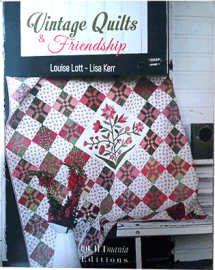 Vintage Quilts & Friendship Book Cover