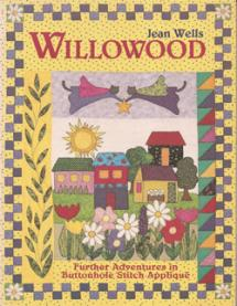 Willowood – Further adventures in buttonhole Stitch Applique Book Cover